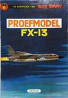 Cover for Buck Danny (Dupuis, 1949 series) #24 - Proefmodel FX-13 [Eerste druk 1961]