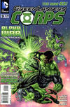 Cover for Green Lantern Corps (DC, 2011 series) #9