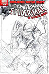 Cover Thumbnail for The Amazing Spider-Man (1999 series) #546 [Variant Edition - Sketch Cover]