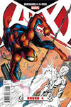 Cover Thumbnail for Avengers vs. X-Men (2012 series) #4 [Team Avengers Variant Cover by Mark Bagley]