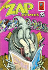 Cover Thumbnail for Zap Comix (1969 series) #6 [2nd print- 0.75 USD]