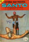 Cover for Santo El Enmascarado de Plata (Editorial Icavi, Ltda., 1976 series) #18