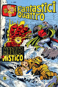 Cover Thumbnail for I Fantastici Quattro (Editoriale Corno, 1971 series) #227