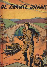 Cover Thumbnail for Buck Danny (Dupuis, 1949 series) #5 - De zwarte draak [Eerste druk (?)]