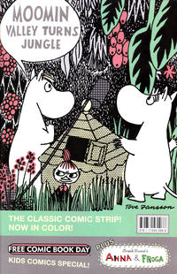Cover Thumbnail for Anna & Froga / Moomin Valley Turns Jungle Free Comic Book Day (Drawn & Quarterly, 2012 series)