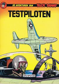 Cover Thumbnail for Buck Danny (Dupuis, 1949 series) #10 - Testpiloten [1966 ]