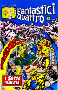 Cover for I Fantastici Quattro (Editoriale Corno, 1971 series) #213
