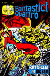 Cover Thumbnail for I Fantastici Quattro (Editoriale Corno, 1971 series) #224
