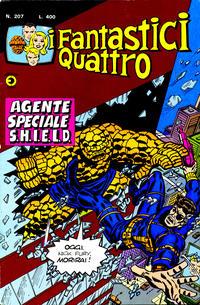 Cover Thumbnail for I Fantastici Quattro (Editoriale Corno, 1971 series) #207
