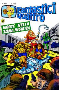 Cover Thumbnail for I Fantastici Quattro (Editoriale Corno, 1971 series) #195
