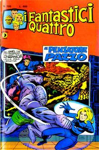 Cover Thumbnail for I Fantastici Quattro (Editoriale Corno, 1971 series) #196