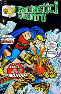 Cover Thumbnail for I Fantastici Quattro (Editoriale Corno, 1971 series) #180