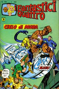 Cover Thumbnail for I Fantastici Quattro (Editoriale Corno, 1971 series) #185