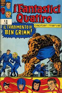 Cover Thumbnail for I Fantastici Quattro (Editoriale Corno, 1971 series) #36