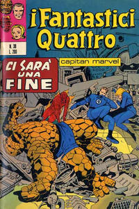 Cover Thumbnail for I Fantastici Quattro (Editoriale Corno, 1971 series) #38