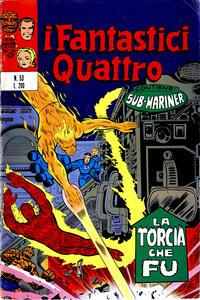 Cover Thumbnail for I Fantastici Quattro (Editoriale Corno, 1971 series) #53