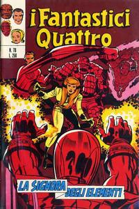 Cover Thumbnail for I Fantastici Quattro (Editoriale Corno, 1971 series) #78