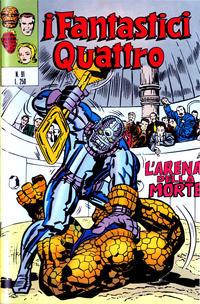 Cover Thumbnail for I Fantastici Quattro (Editoriale Corno, 1971 series) #91