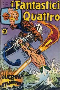 Cover Thumbnail for I Fantastici Quattro (Editoriale Corno, 1971 series) #101