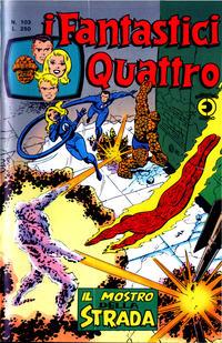 Cover Thumbnail for I Fantastici Quattro (Editoriale Corno, 1971 series) #103