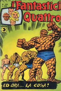 Cover Thumbnail for I Fantastici Quattro (Editoriale Corno, 1971 series) #105