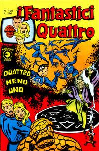 Cover Thumbnail for I Fantastici Quattro (Editoriale Corno, 1971 series) #108