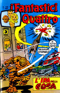 Cover Thumbnail for I Fantastici Quattro (Editoriale Corno, 1971 series) #109