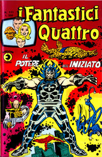 Cover Thumbnail for I Fantastici Quattro (Editoriale Corno, 1971 series) #111