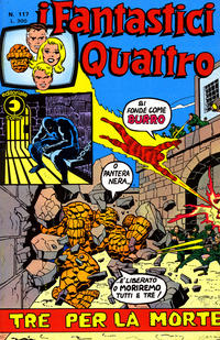 Cover Thumbnail for I Fantastici Quattro (Editoriale Corno, 1971 series) #117