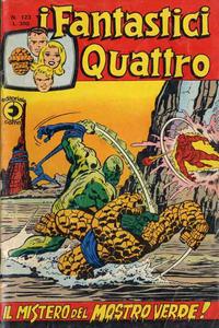 Cover Thumbnail for I Fantastici Quattro (Editoriale Corno, 1971 series) #123