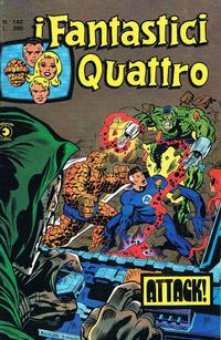 Cover Thumbnail for I Fantastici Quattro (Editoriale Corno, 1971 series) #142