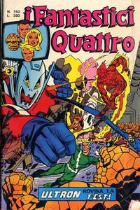 Cover Thumbnail for I Fantastici Quattro (Editoriale Corno, 1971 series) #150