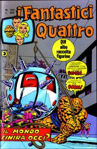 Cover Thumbnail for I Fantastici Quattro (Editoriale Corno, 1971 series) #154
