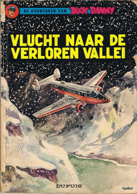 Cover Thumbnail for Buck Danny (Dupuis, 1949 series) #23 - Vlucht naar de verloren vallei [Herdruk 1966]