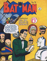 Cover for Batman (K. G. Murray, 1950 series) #73