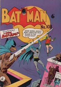 Cover Thumbnail for Batman (K. G. Murray, 1950 series) #108