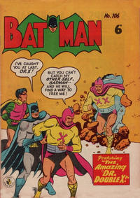 Cover Thumbnail for Batman (K. G. Murray, 1950 series) #106