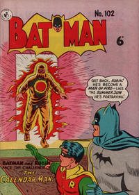 Cover Thumbnail for Batman (K. G. Murray, 1950 series) #102