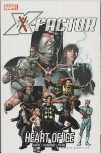 Cover Thumbnail for X-Factor (Marvel, 2007 series) #4 - Heart of Ice
