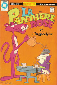 Cover Thumbnail for La Panthère Rose (Editions Héritage, 1978 series) #8