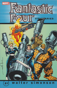 Cover Thumbnail for Fantastic Four Visionaries: Walter Simonson (Marvel, 2007 series) #2