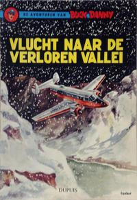 Cover Thumbnail for Buck Danny (Dupuis, 1949 series) #23 - Vlucht naar de verloren vallei [Eerste druk 1960]