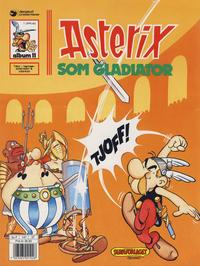 Cover for Asterix (Hjemmet / Egmont, 1969 series) #11 - Asterix som gladiator [1. opplag]