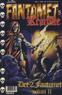 Cover Thumbnail for Fantomets krønike (Semic, 1989 series) #2/1994