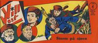 Cover Thumbnail for Vill Vest (Serieforlaget / Se-Bladene / Stabenfeldt, 1953 series) #1/1955