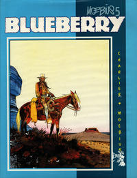 Cover Thumbnail for Moebius (Graphitti Designs, 1989 series) #5 - Blueberry