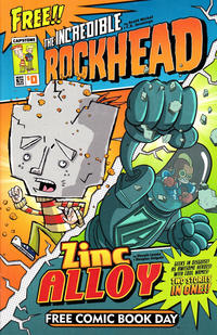 Cover Thumbnail for The Rockhead & Zinc Alloy 2-For-None! (Capstone Publishers, 2012 series)