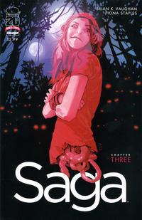 Cover Thumbnail for Saga (Image, 2012 series) #3