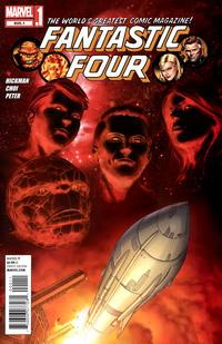 Cover Thumbnail for Fantastic Four (Marvel, 2012 series) #605.1