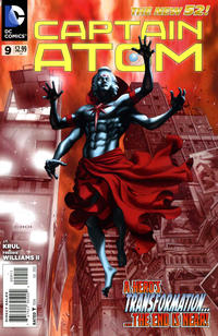 Cover Thumbnail for Captain Atom (DC, 2011 series) #9